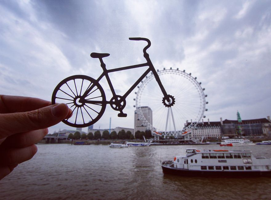 paper cutouts transform landmarks 2