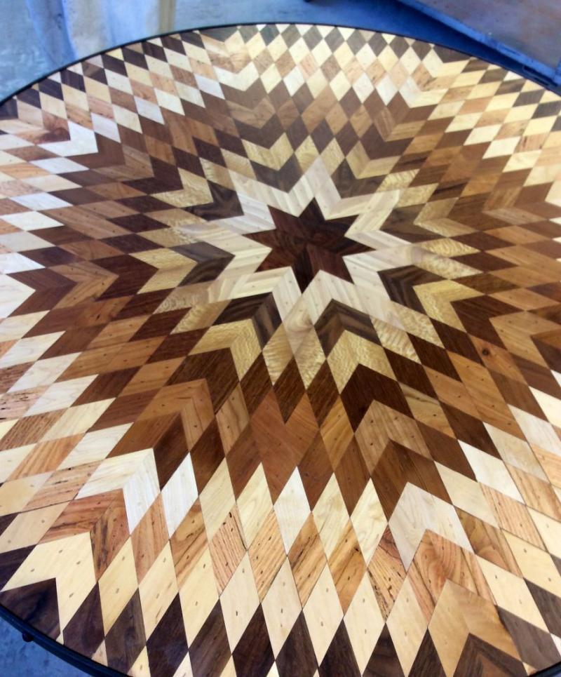 scrap wood into exquisite furniture 11