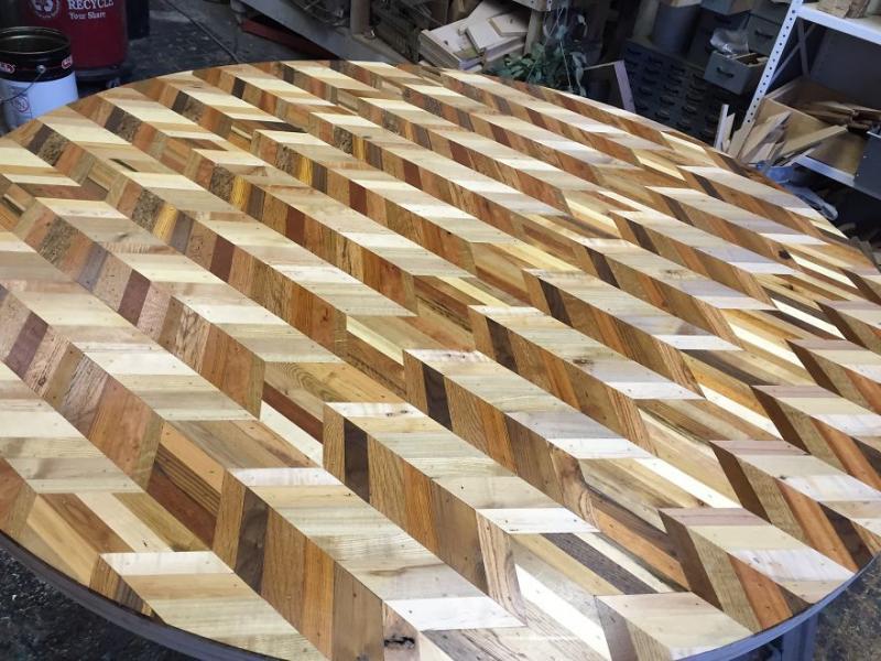 scrap wood into exquisite furniture 12