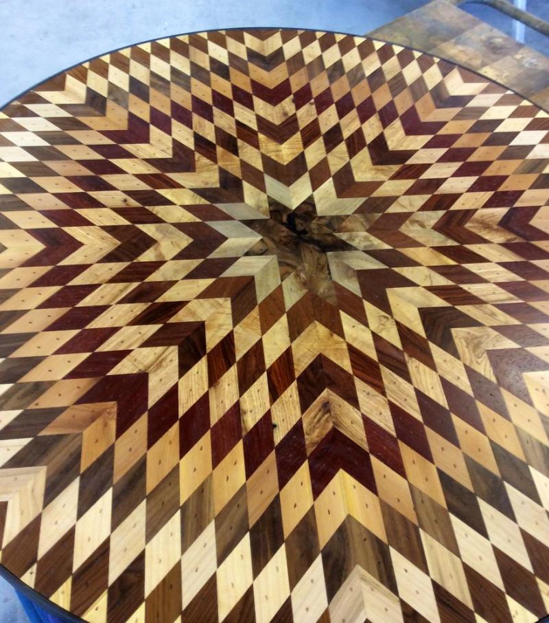 scrap wood into exquisite furniture 6