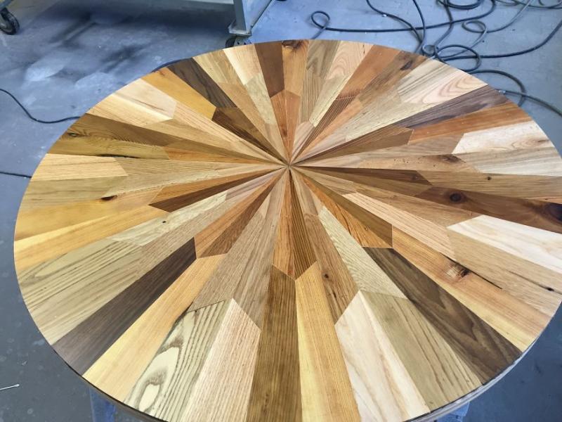 scrap wood into exquisite furniture 7