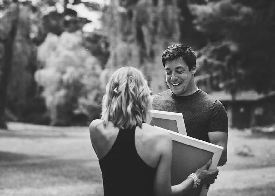 wife surprises husband6