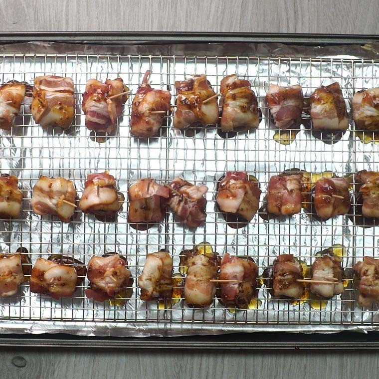 Bacon Wrapped Kielbasa8