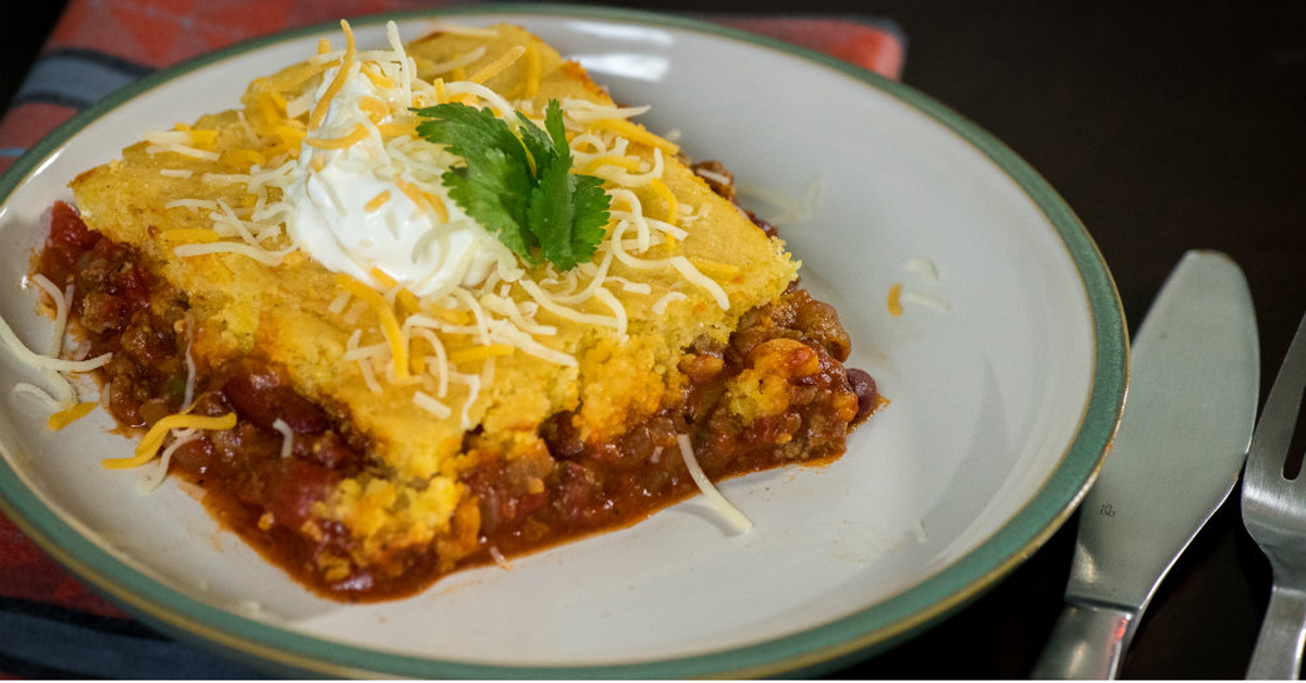 Oven-Baked Chili Cornbread Casserole Is The Ultimate Comfort Food ...