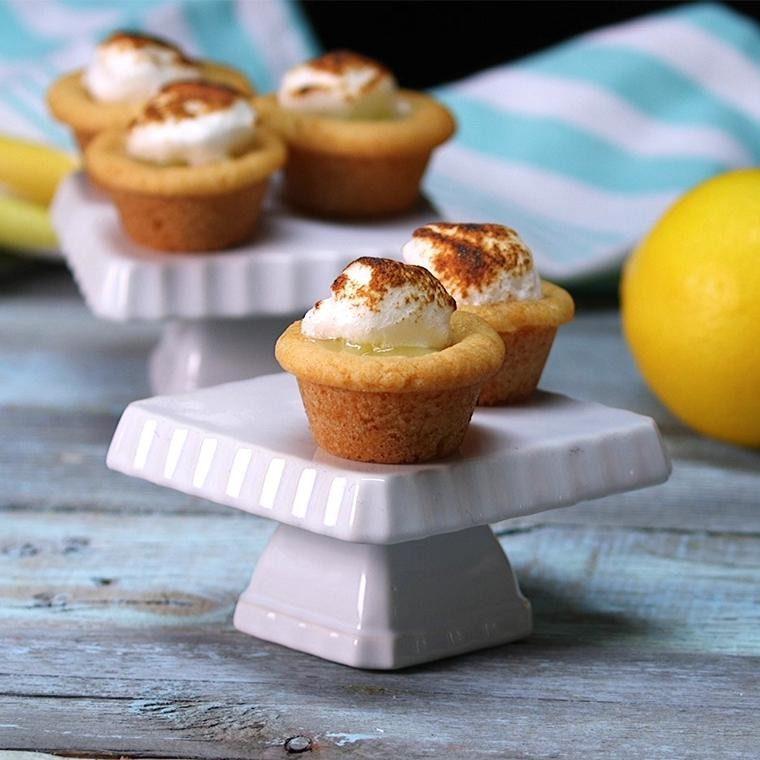 Lemon Meringue Cookie Cups1