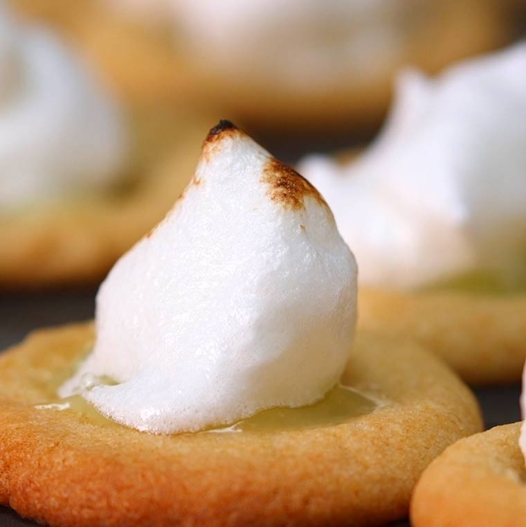 Lemon Meringue Cookie Cups10