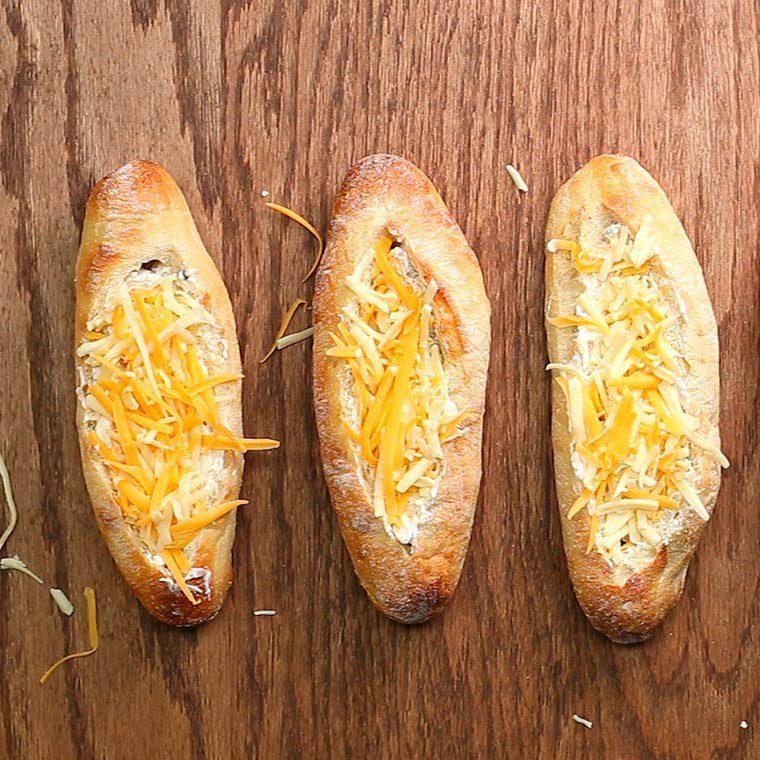 Mushroom Stuffed Bread4