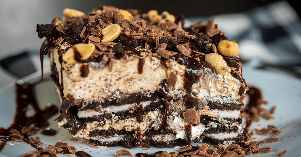 Peanut Butter Oreo Icebox Cake Recipe