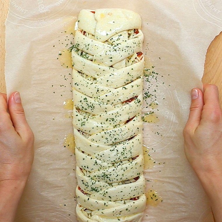 Pizza Braid5
