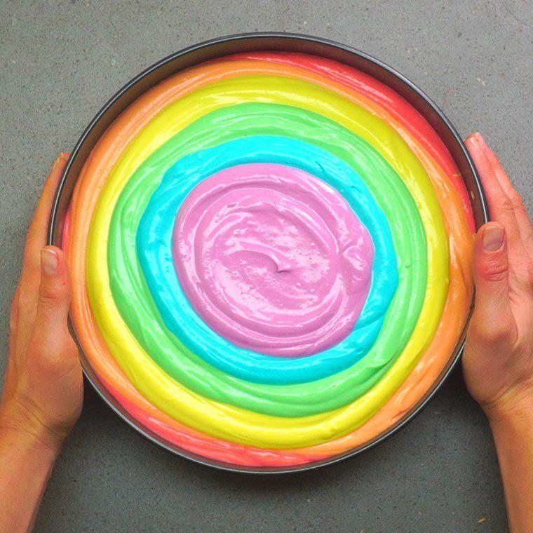 Rainbow Cheesecake11