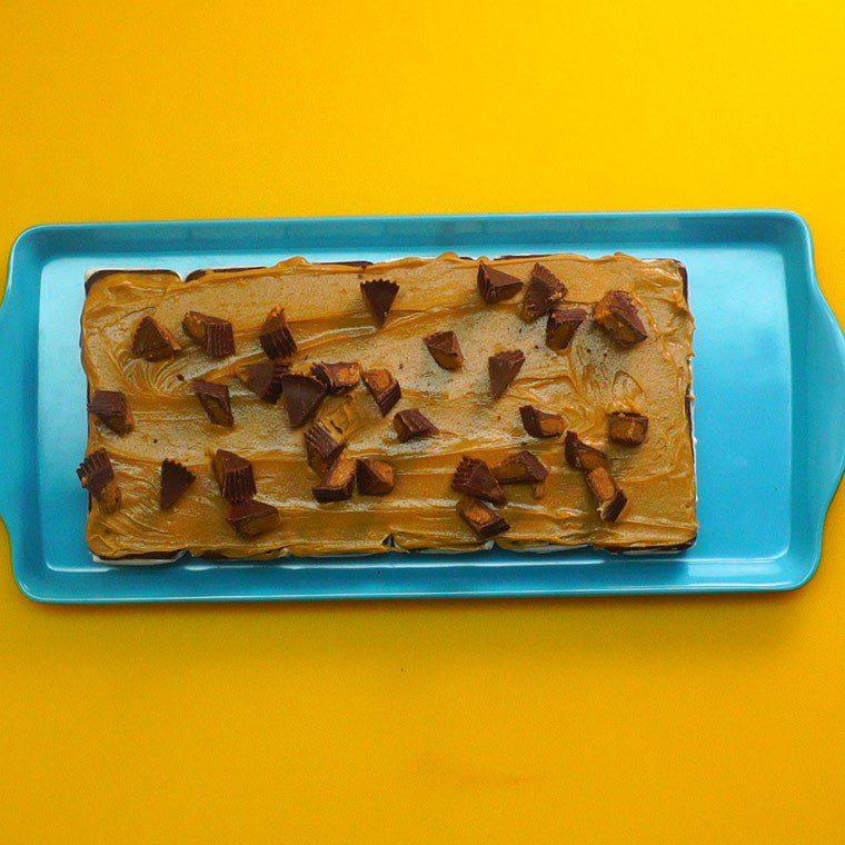Reese's Ice Cream Cake5