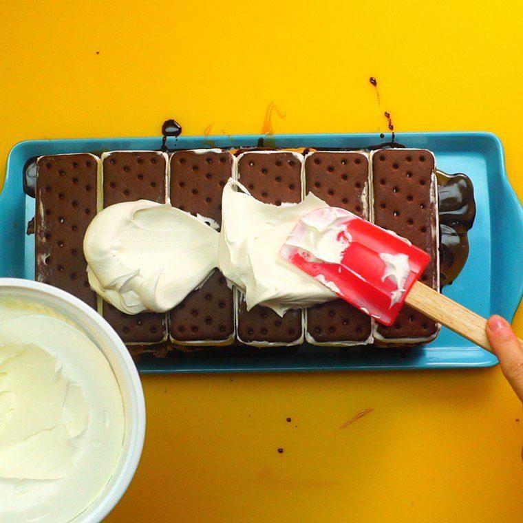 Reese's Ice Cream Cake8
