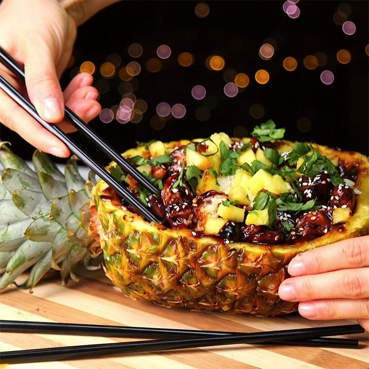 teriyaki-chicken-pineapple-bowls1