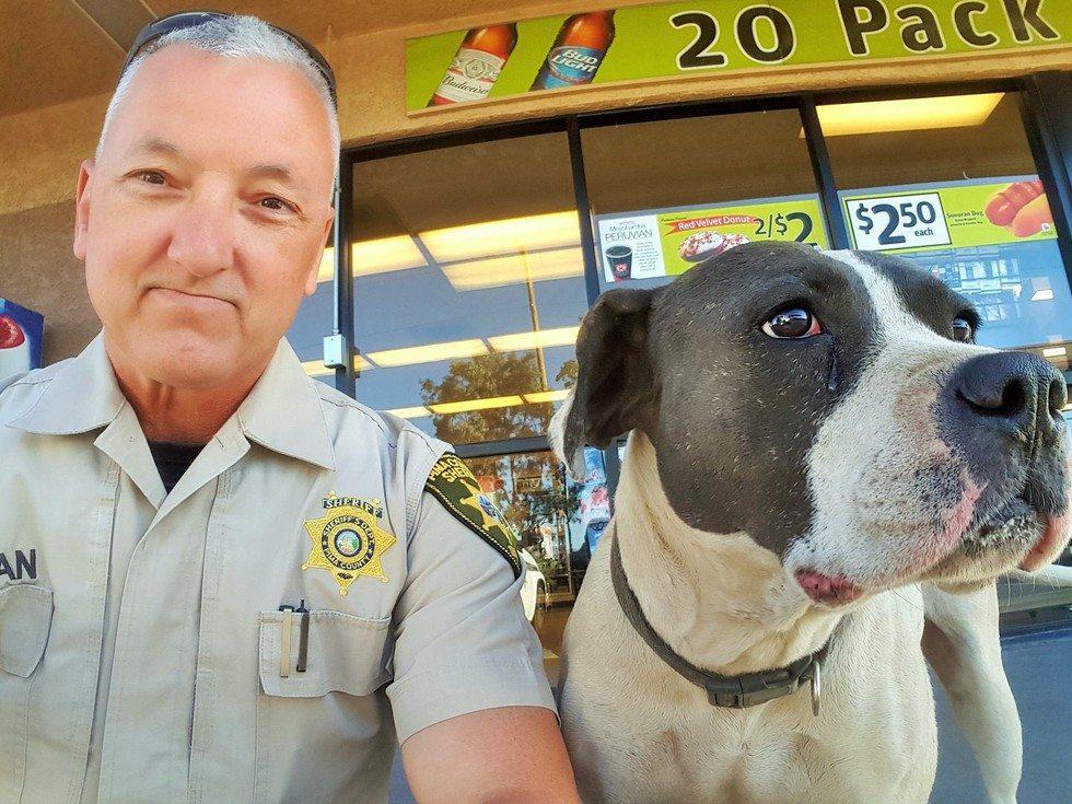officer-and-dog-selfie2