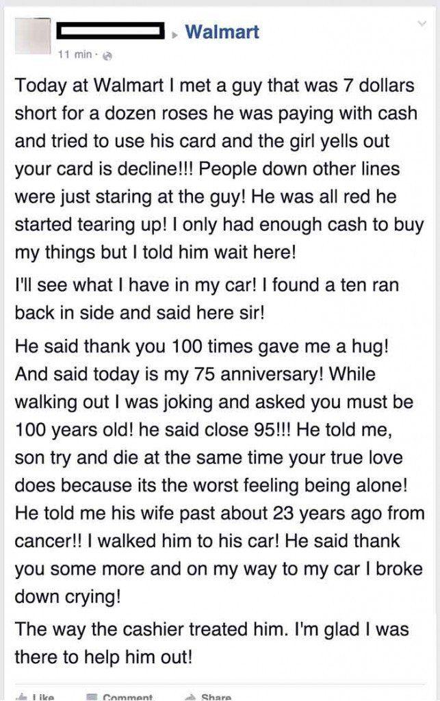 generous act