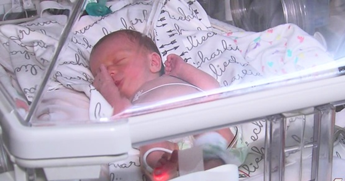 cameras installed for newborns