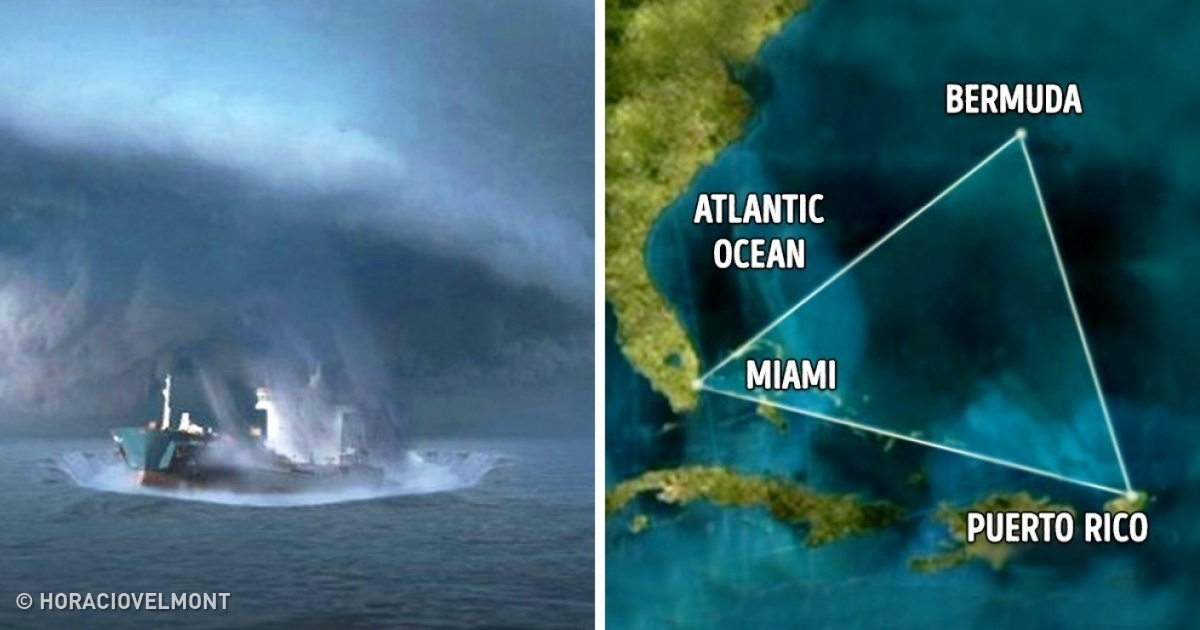 the mystery surrounding the bermuda triangle essay The bermuda triangle is a large area of ocean between florida, puerto  that  dozens of ships and planes have disappeared under mysterious.