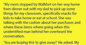 strangers kind gesture