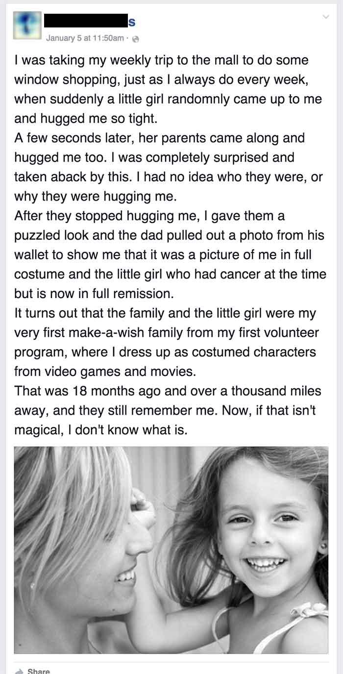make a wish family