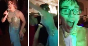 cheater outed at prom