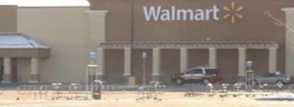 son shoots mother at walmart