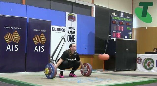 transgender weightlifter