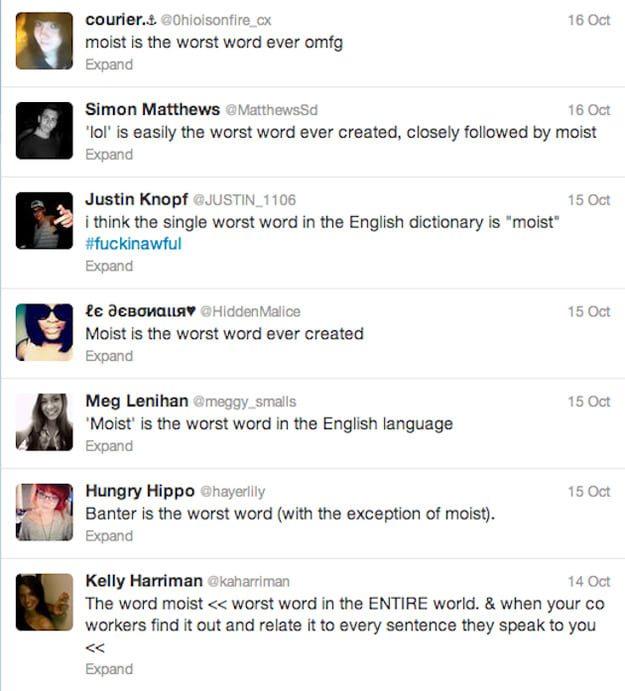 moist is worst word