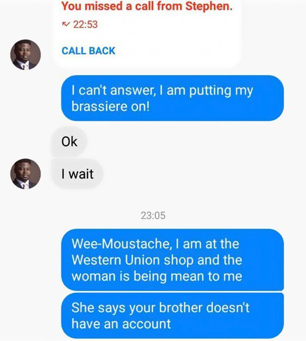 nigerian scammer revenge
