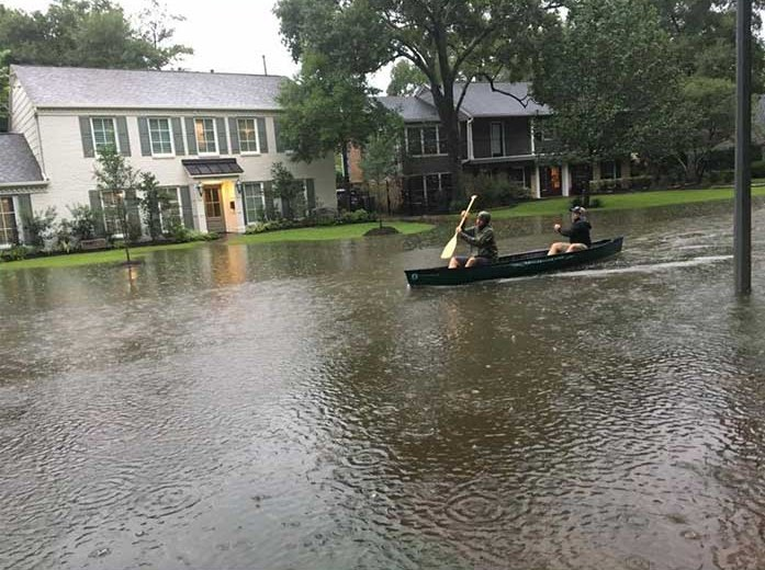 helping hurricane harvey victims