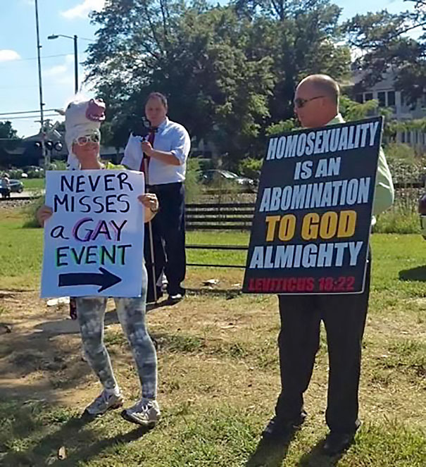 funny protestor signs