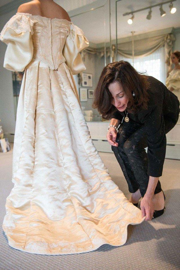 inherited wedding dress