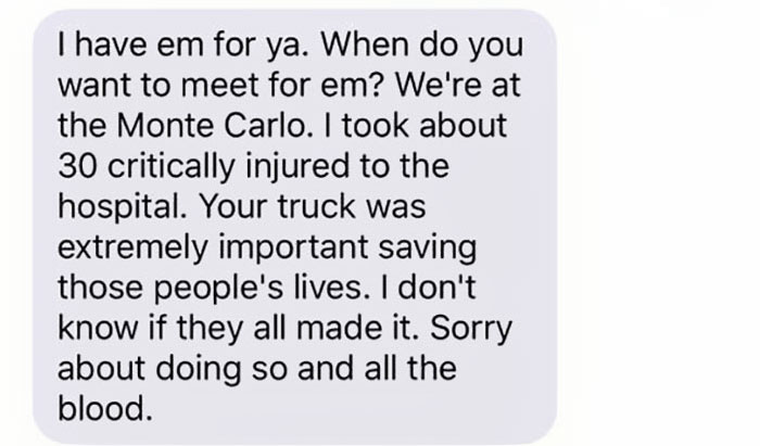 stolen truck vegas shooting