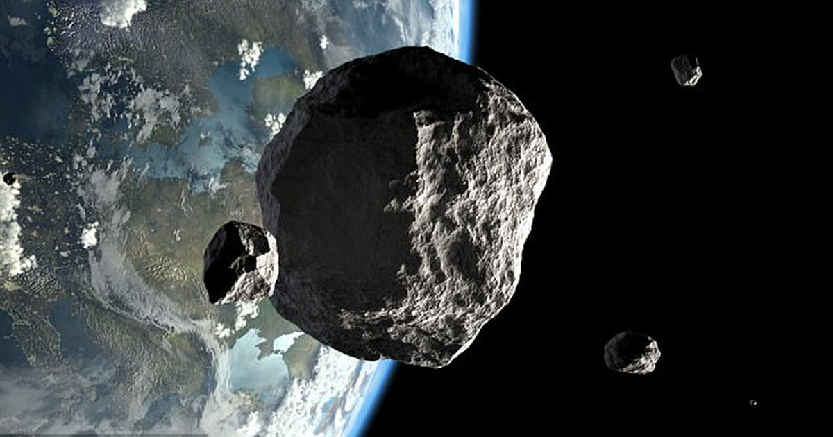 Previously Unseen Asteroid Skims Past Earth In 'Near Miss'