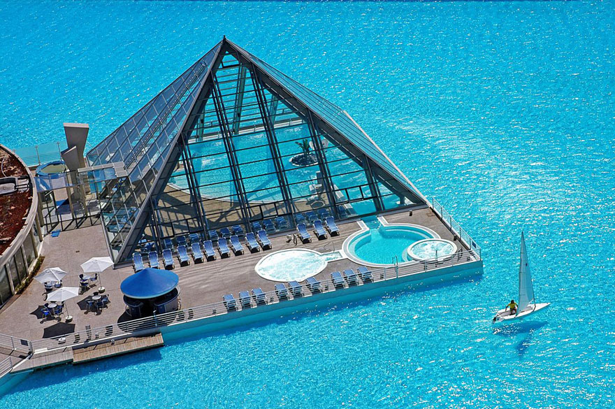 largest pool