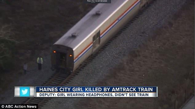 girl killed by train