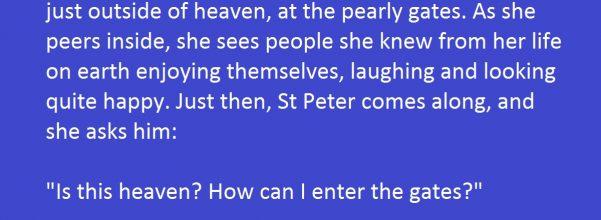heaven joke
