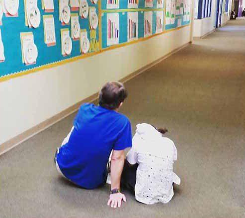 dedicated teacher