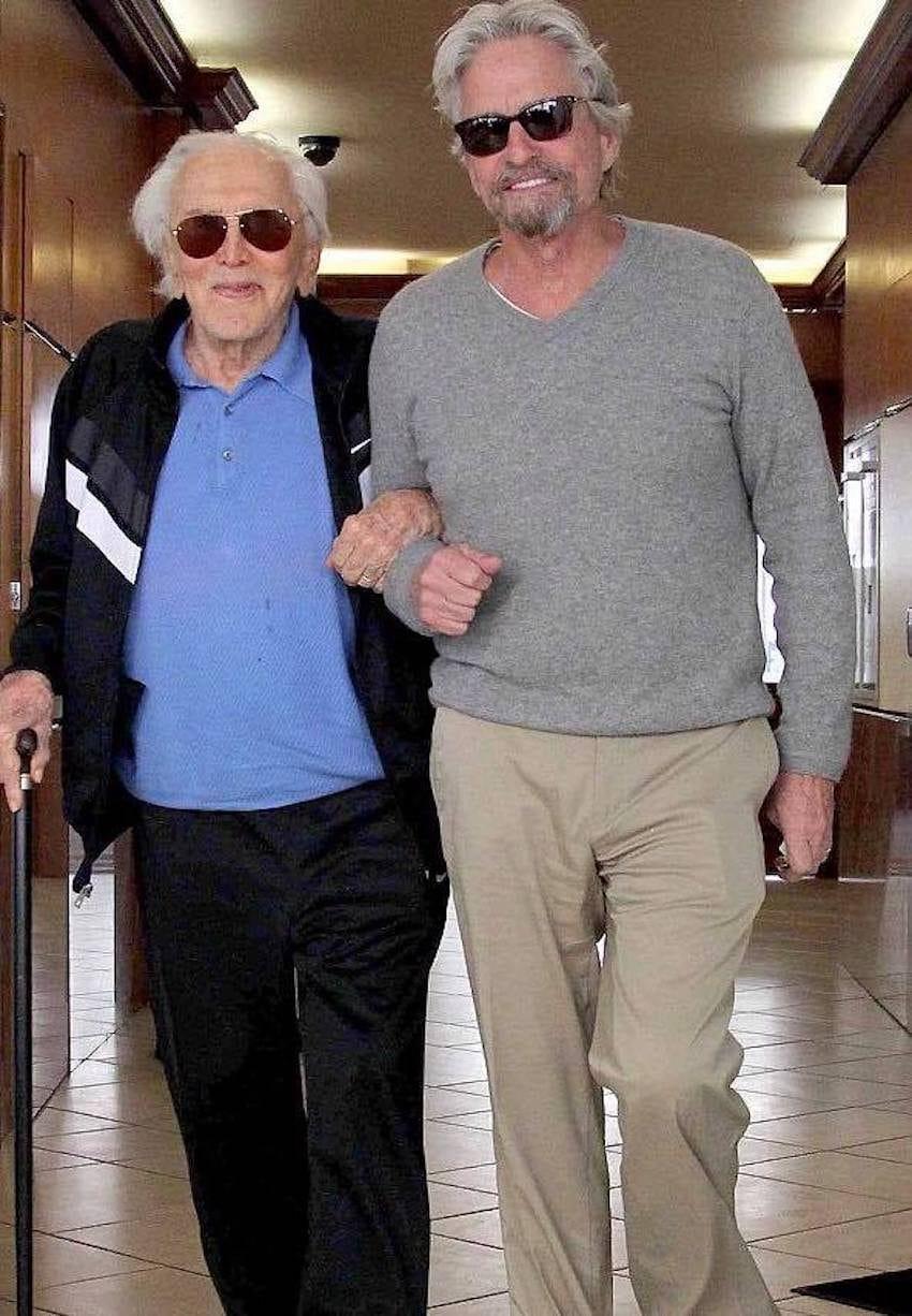 kirk douglas turns 101 family-photos