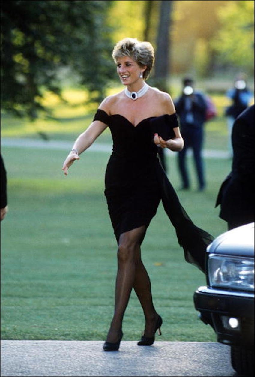princess diana revenge dress style