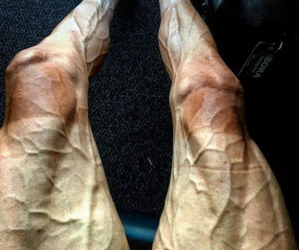 tour de france cyclist legs