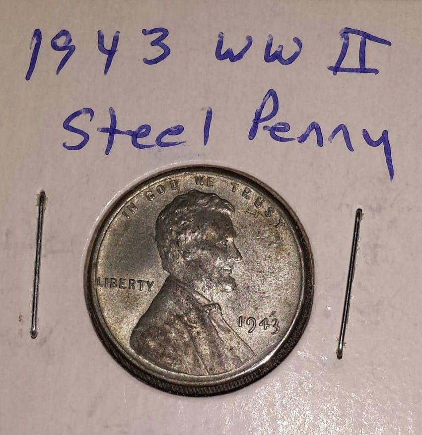 1943 copper penny