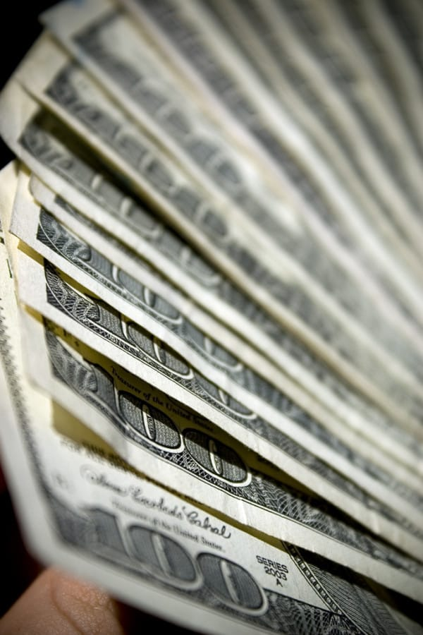 bury money fortune