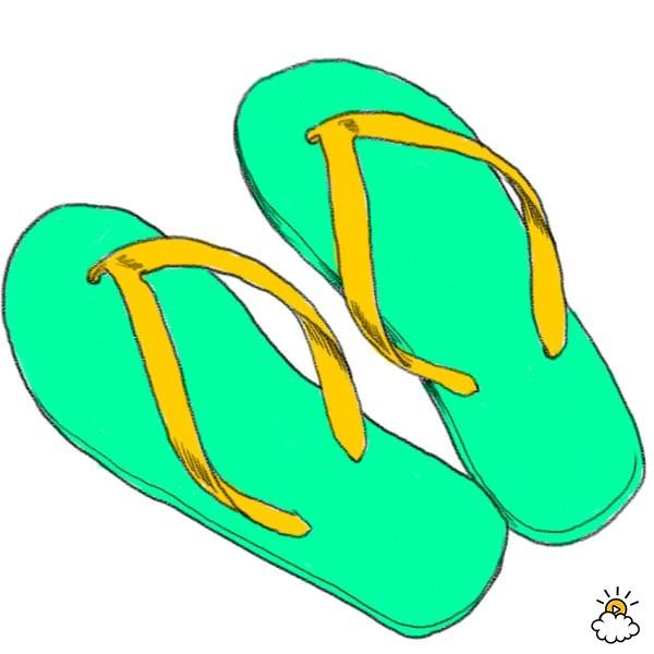 stop wearing flip flops