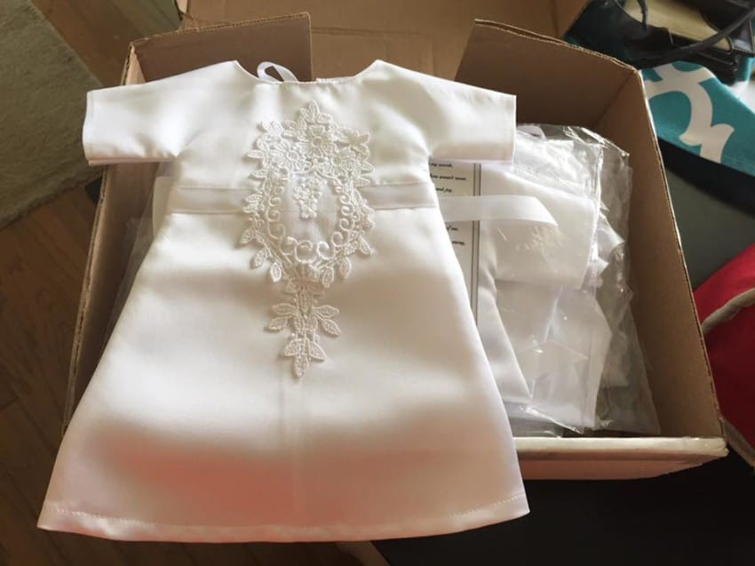 Bride Has Her Wedding Gown Cut Into 17 \'Angel Gowns\' For Babies Lost ...