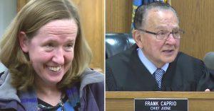 judge dismisses parking ticket