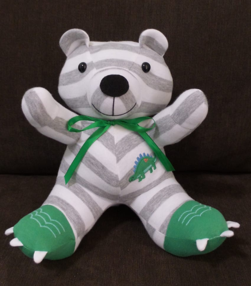onesie to bear transformation
