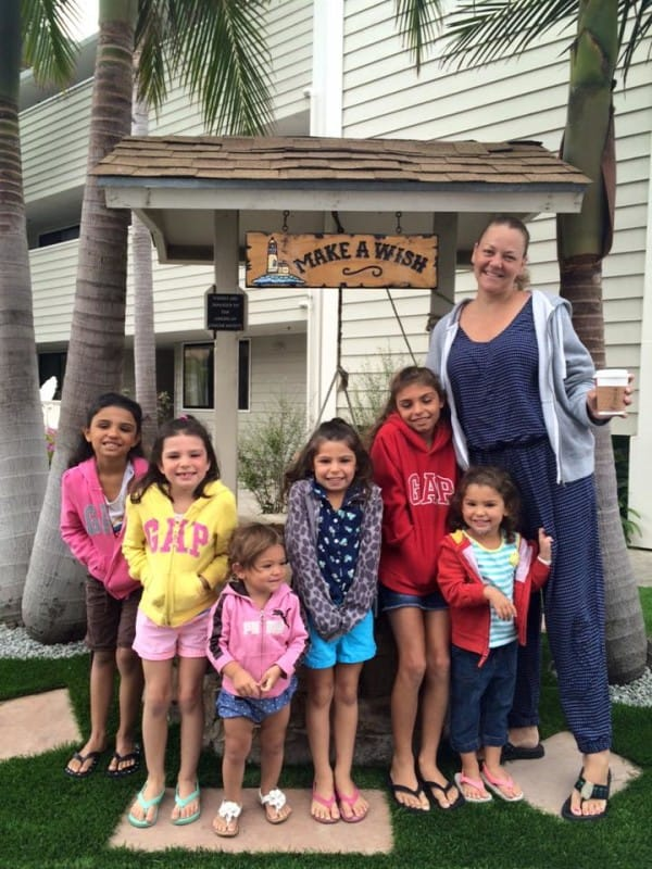 single mom adopts 6 sisters