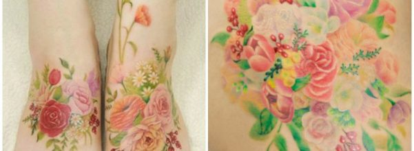 silo watercolor tattoos
