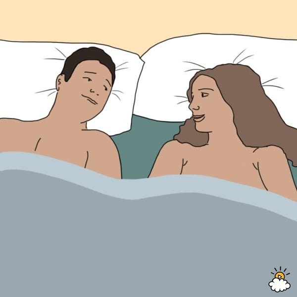 sleeping naked benefits