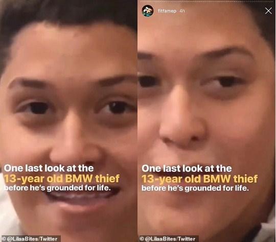 Liza Campero BMW tweet